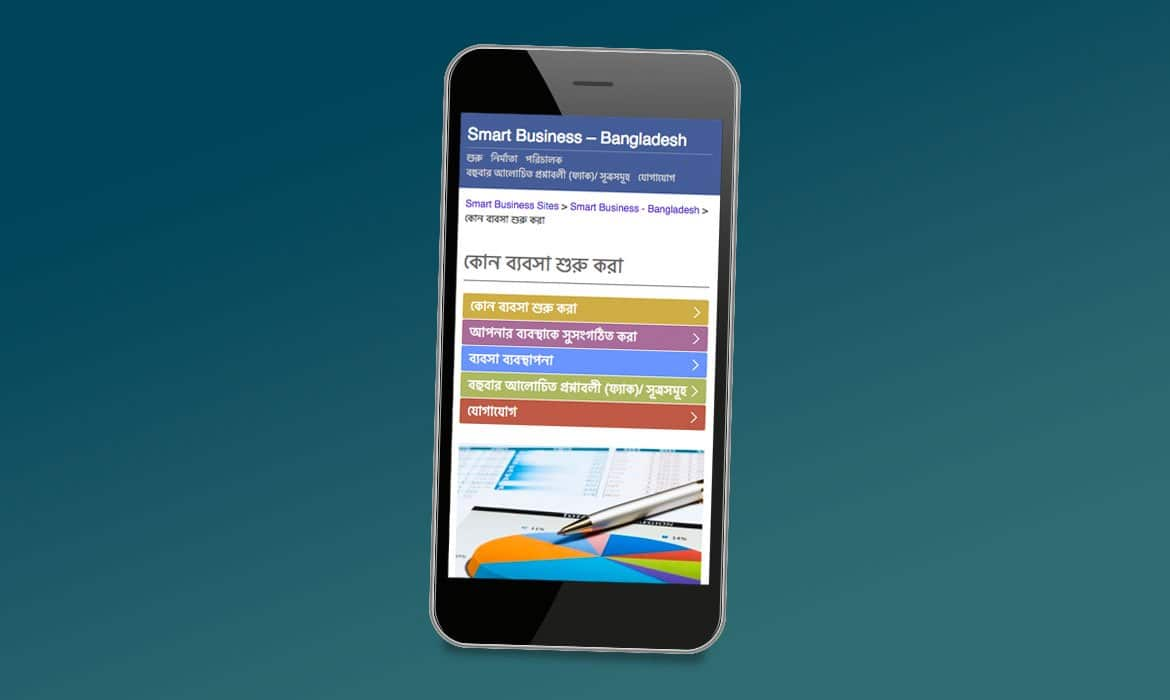 Mobile Websites Smart Business