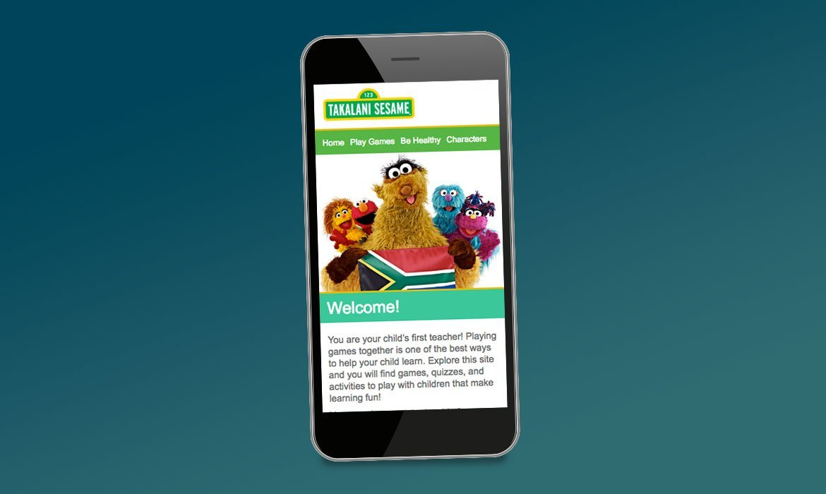 Mobile Websites Sesame Workshop